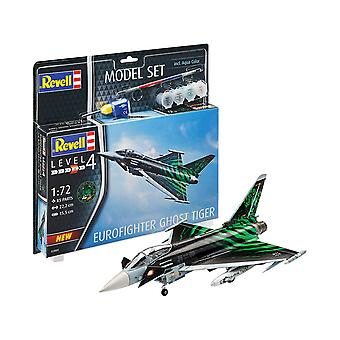 Revell 63884 Eurofighter 'Ghost Tiger ', Multicolor, 1/24 Kit modello di plastica