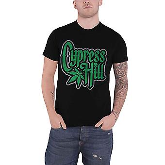 Cypress Hill T Shirt Band Logo Leaf Rise Up new Official Mens Black