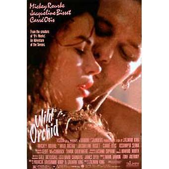 Wild Orchid alkuperäinen elokuva teatteri juliste