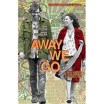 Away We Go Original Movie Poster - Double Sided Regular