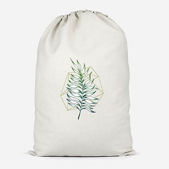 Geometry And Nature Cotton Storage Bag