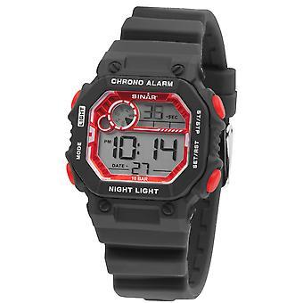 SINAR Youth Watch Wristwatch Digital Quartz Unisex Silicone Strap XE-55-1 Retro Look SINAR Youth Watch
