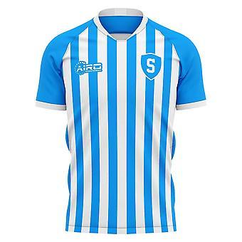 2020-2021 SPAL Home Concept Fodbold shirt