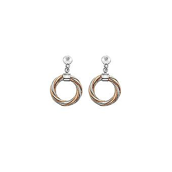 Hot Diamonds Breeze Earrings RGP Accents DE474