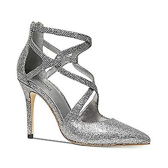 Michael Michael Kors Womens Catia Pump Pointed Toe Ankle Wrap Classic Pumps