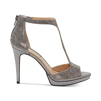 INC International Concepts Womens Sherene Peep Toe Special Occasion Ankle Str...