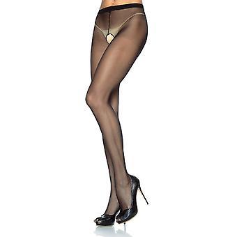 Leg Avenue Crotchless Sheer Tights