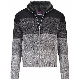 KAM Kam Knitted Fleece Jacket