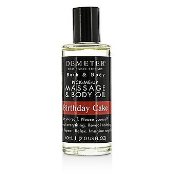 Demeter Birthday Cake Massage & Body Oil 60ml/2oz