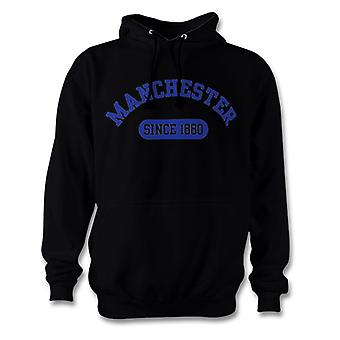 Manchester City 1880 Established Football Hoodie