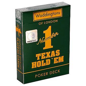 Waddingtons nr 1 Carti de joc - Texas Hold Em