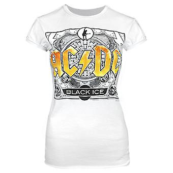 Amplified AC/DC Comics Black Ice Women's T-Shirt