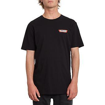 Volcom Trap lichtgewicht korte mouwen T-shirt in zwart