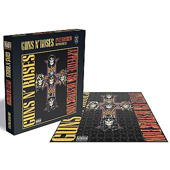 Guns N Roses Appetite for Destruction 2 500 piece jigsaw puzzle 410mm x 410mm (ze)