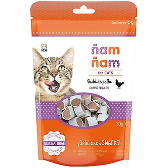 Ica Sushi Chicken Mini ?am ?am (Cats , Treats , Biscuits)