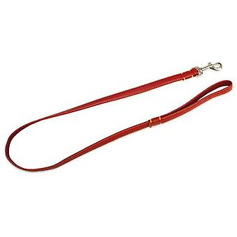 Arquivet Lisa Red Leather Strap 2 X 120 Cm (Dogs , Collars, Leads and Harnesses , Leads)