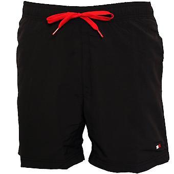 Tommy Hilfiger Classic Logo Swim Shorts, PVH Black