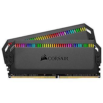 Corsair Dominator Platinum RGB kit 32GB (2x16GB) de DDR4 3200MHz C16, Negro