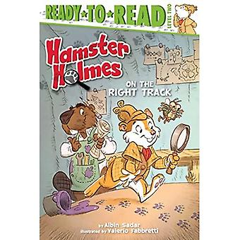 Hamster Holmes, on the Right Track (Ready-To-Read: Level 2)