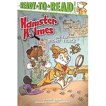 Hamsteri Holmes oikeilla jäljillä (valmis lukea: tason 2)