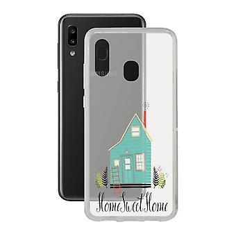 Mobiele cover Samsung Galaxy A20e Contact Flex Home TPU