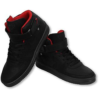 Shoes - Sneaker High - Star Black Red