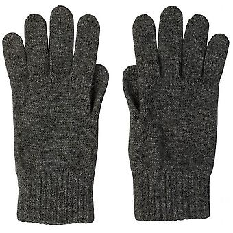 Johnstons of Elgin Cashmere Jersey Gloves - Classic Red