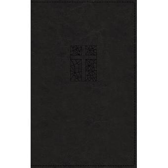 NRSV - Thinline Bible - Large Print - Leathersoft - Black - Comfort P