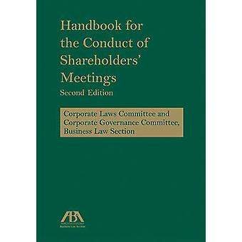 Handbook for the Conduct of Shareholders' Meetings (2nd) by American