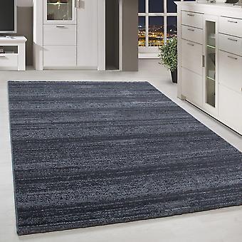 Short floral design tapis de couleur solide motif de rayure gris tapis de salon marbré tapis