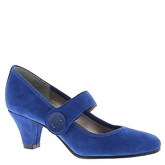 ARRAY Womens Sapphire Closed Toe Ankle Strap Classic Pumps