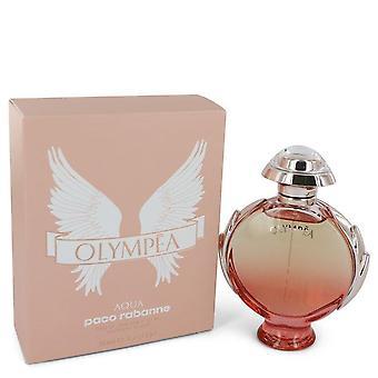 Olympea Aqua Eau De Parfum Legree Spray By Paco Rabanne 2.7 oz Eau De Parfum Legree Spray