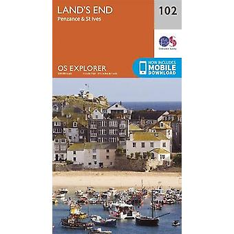Land's End - Penzance & St Ives - 9780319263648 Book