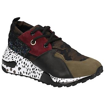 Steve Madden Womens Cliff Lace Up Trainer