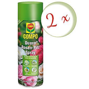 Sparset: 2 x COMPO Duaxo® Rosen Pilz-frei Spray, 400 ml