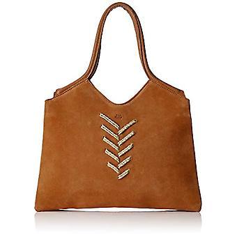 Mila LouiseObaya Tr Donna Brown shoulder bag (Camel)11x21x20 centimeters (W x H x L)