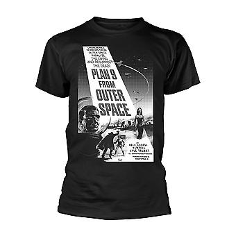 Plan 9 From Outer Space - Poster Official Tee T-Shirt Mens Unisex