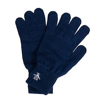 Accessories Original Penguin Basic Logo Glove in Blue