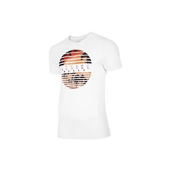 4F TSM033 H4L20TSM033BIAY universel toute l'année homme t-shirt