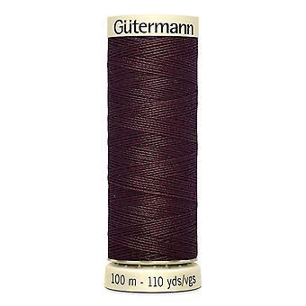 Gutermann sy-alle 100% polyestertråd 100m Hånd- og maskinfarvekode - 175