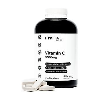 Vitamin C 1000 mg 240 tablets