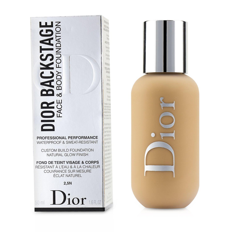 Dior backstage face & body foundation # 2.5 n (2.5 neutral ...