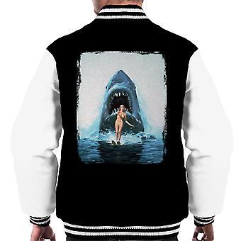 Jaws 2 Water Ski Men's Varsity Jacket