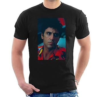 Scarface Pacino Portrait Men's T-Shirt