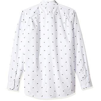 Goodthreads الرجال & apos;ق القياسية تناسب طويلة الأكمام دوبي قميص, -بيزلي الأزرق الفاتح, ...