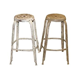 Deco4yourhome Stool Around Iron