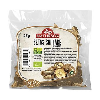 Dehydrated Shiitake Mushrooms 25 g
