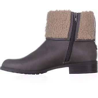 Style & Co. Womens Bettey Leather Almond Toe Ankle Chelsea Boots