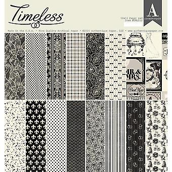 Authentique Διαχρονικό 12x12 ιντσών χάρτινο μαξιλάρι