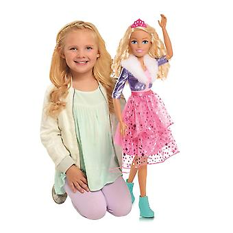 barbie best fashion friend princess adventure 70cm doll for ages 3 and above